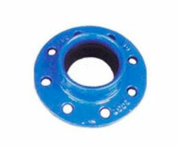 Brida doble cámara para tuberías de PVC. FMK Hidraulic Supplies.
