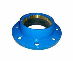 Brida doble cámara para tubos PE. FMK Hidraulic Supplies.