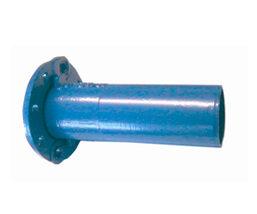 Brida liso para tubo fundición ductil.