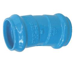 Codo doble enchufe para tuberías de PVC