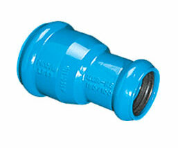 Reducción doble enchufe para PVC