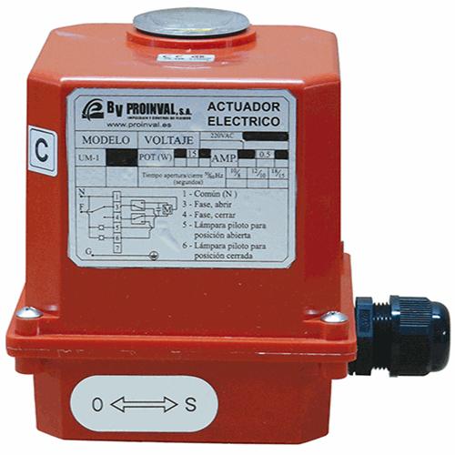 Actuador electrico monofasico BVP20