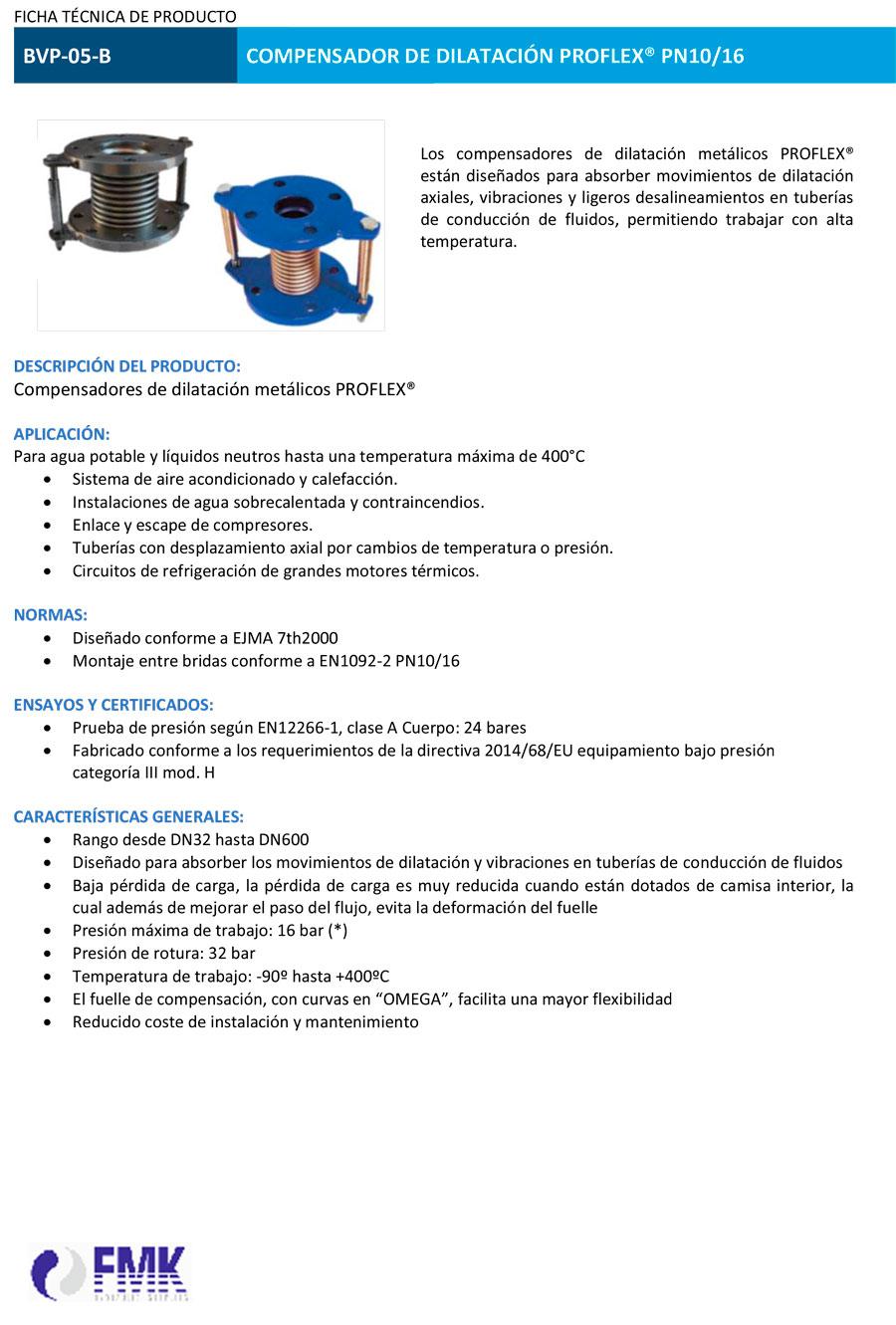 fmk-hydraulic-Compensador-de-dilatación-PROFLEX-bridado-BVP-05-B-ficha-tecnica-1