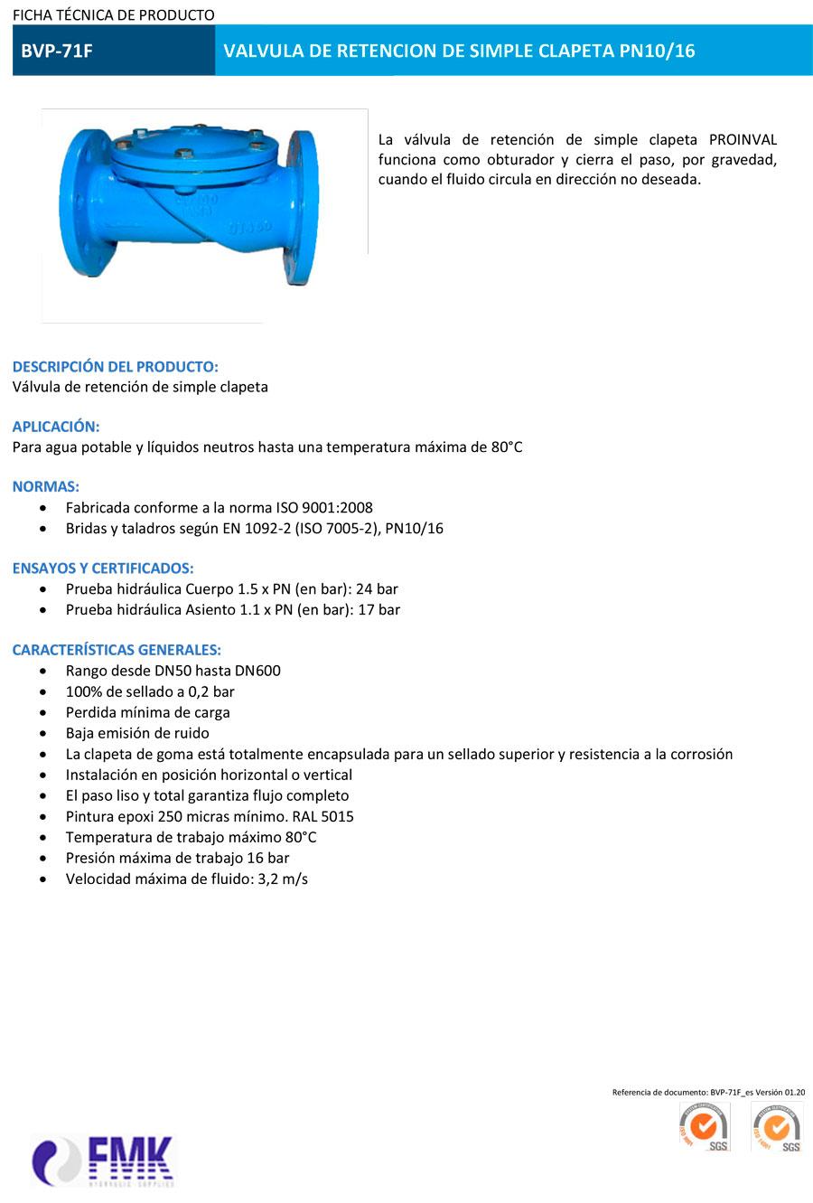 fmk-hydraulic-valvula-de-retencion-de-simple-clapeta-corta-BVP-71F-ficha-tecnica-1